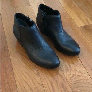 Black Sam Edelman leather booties